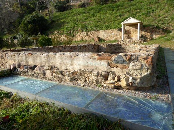 Tossa de Mar römische vila Ausgrabung