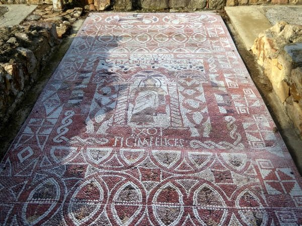 Tossa de Mara römisch Mosaik Nachbildung