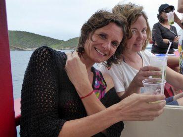 auf dem Boot Caipirinha Búzios
