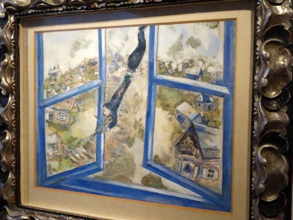 chagall paradis bleu tossa de mar