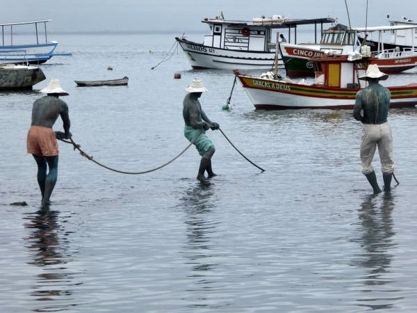 tres pescadores cristina motta buzios skulptur