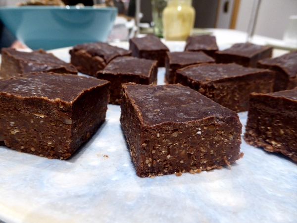 vegan Brownies in Barcelona so lecker