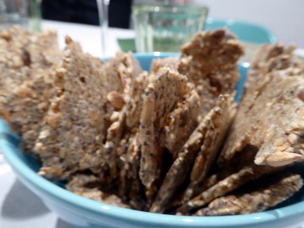 vegane cracker - vegan organic food Barcelona