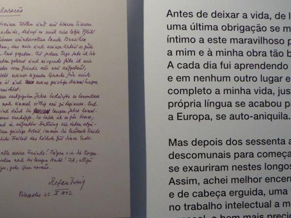 Abschied Casa Museum Stefan Zweig Petropolis