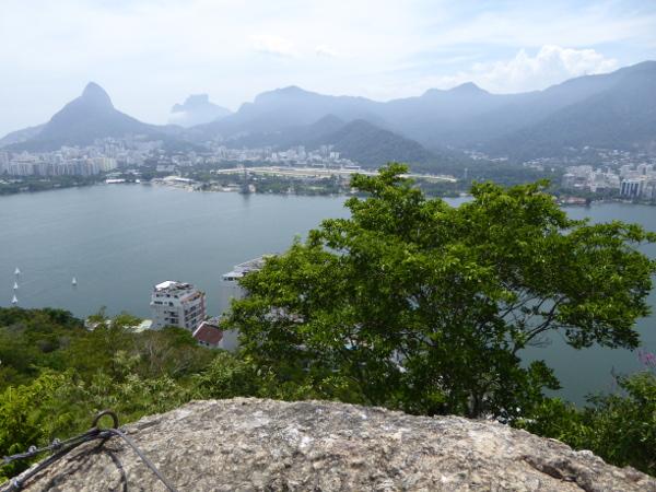 Beste Aussicht auf Rio de Janeiro vom Gipfel Parque Catacumba