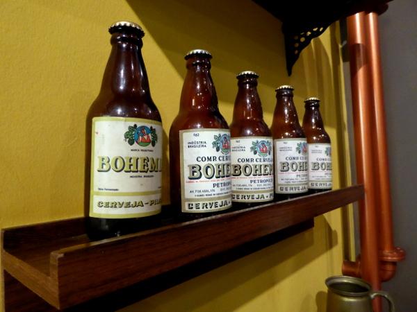 Bohemia Bier Flaschen Brauerei Petropolis
