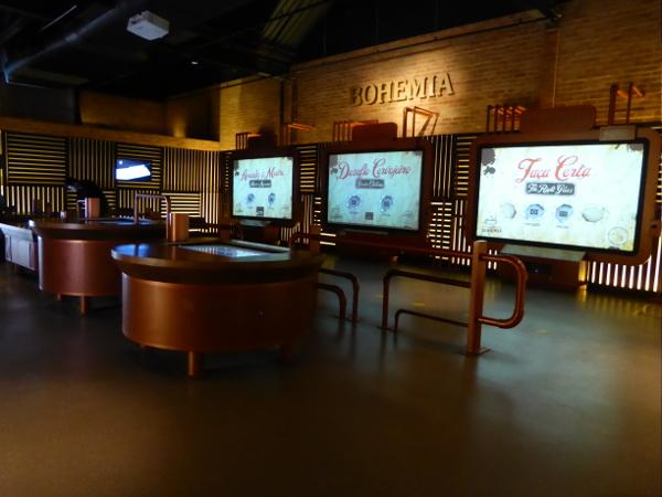 Bohemia Museum Brauerei Petropolis interaktiv
