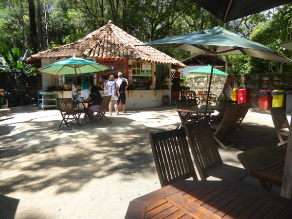 Cafe im Jardim Botânico
