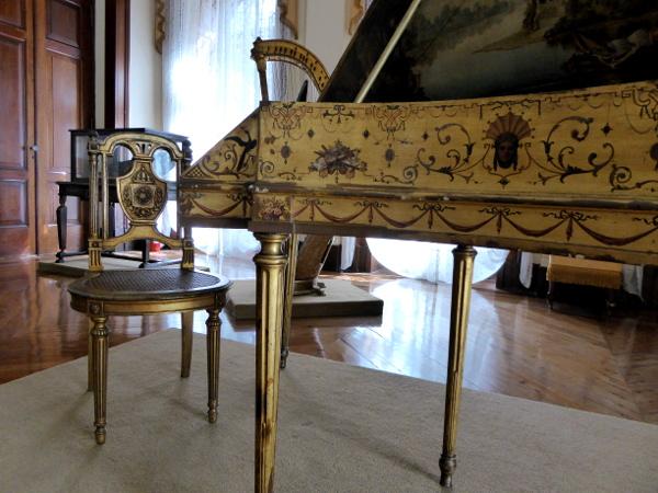 Dom Pedro II Kaiser Brasilien Petropolis Museu Imperial Spinett