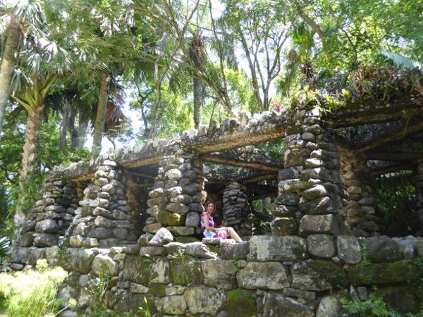 Jardim Botânico Rio de Janeiro Ruine