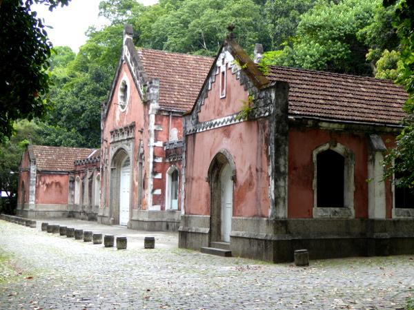 Parque Lage Rio Gebaeude
