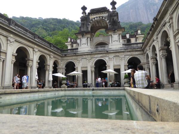 Parque Lage Rio Gebauede Universitaet