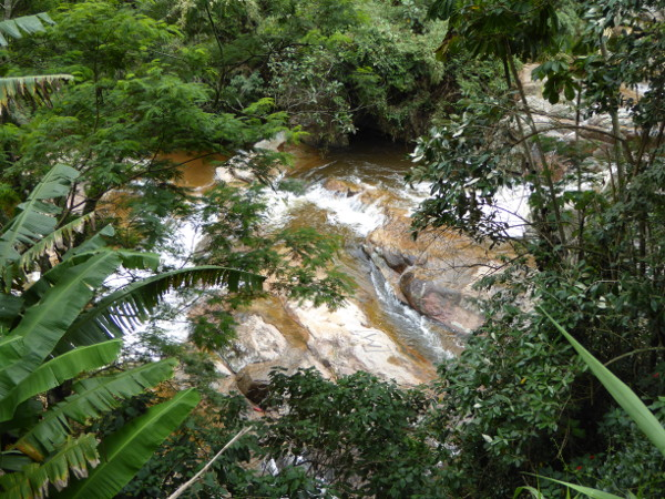 Parque Serra dos Orgaos Petropolis wasserlauf