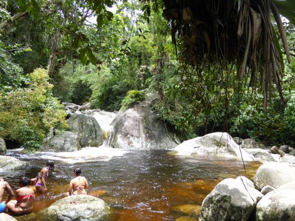 Parque Serra dos Orgaos Teresopolis badende
