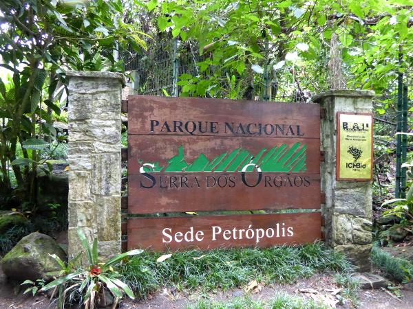 Parque Serra dos Orgaos Petropolis Brasilien