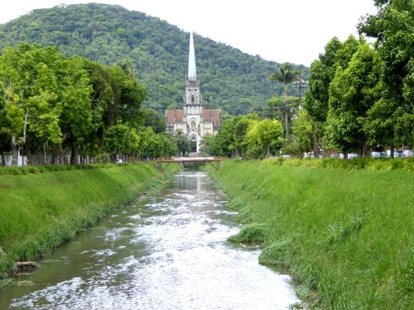 Petropolis Brasilien Kirche
