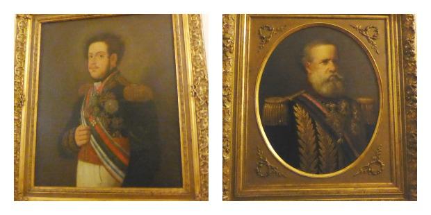 Petropolis Dom Pedro I und Dom Pedro II