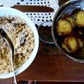 Pousada da Alcobaça Kartoffeln Farofa