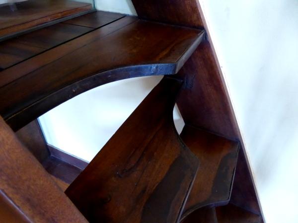 Santos Dumont Haus Treppe