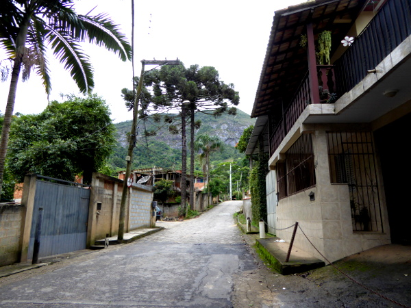 Weg zum Parque NAcional SErra Dos Orgaos Parnaso