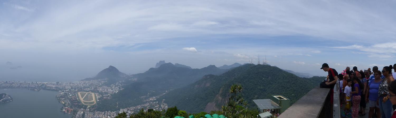 aussicht Corcovado Cristo Redentor