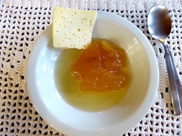dessert Pousada da Alcobaça