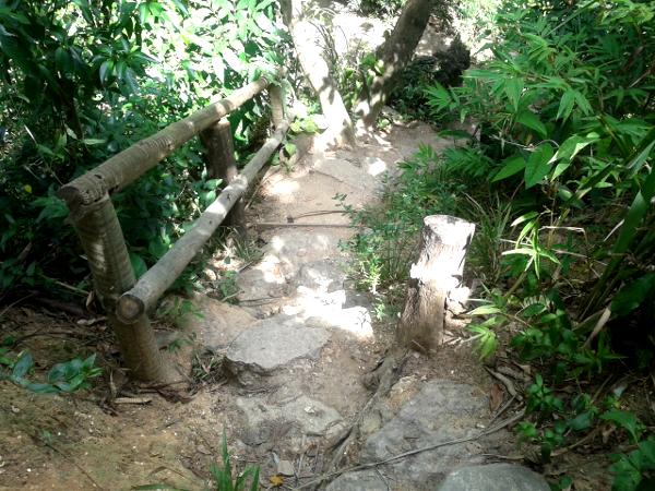 wandern im Parque da Catacumba