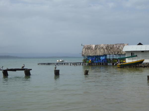 Bastimentos Haus auf Stelzen Panama