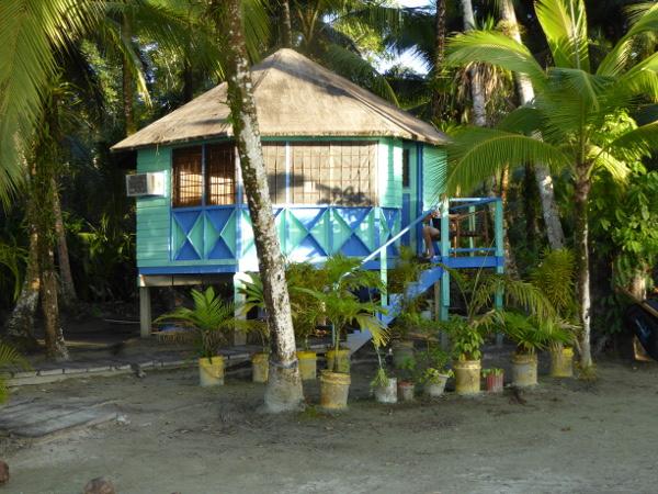 Isla Carenero Bocas buccaneer resort unsere huette