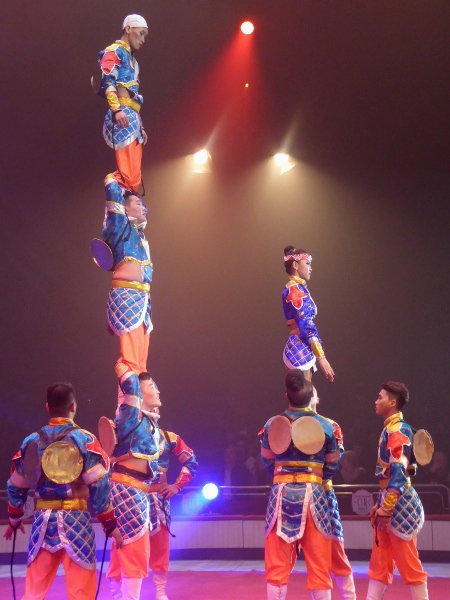Mongolei Zirkus Festival Figueres