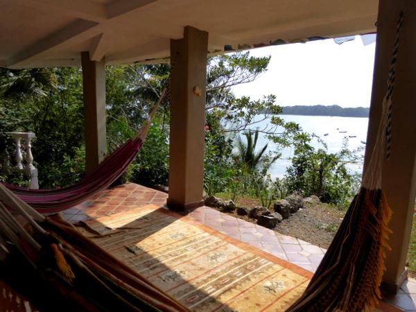 Santa Catalina Panama Coiba House Terrasse