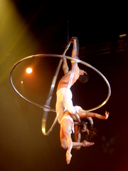 Zirkus Festival Figueres DOPPEL RINGE