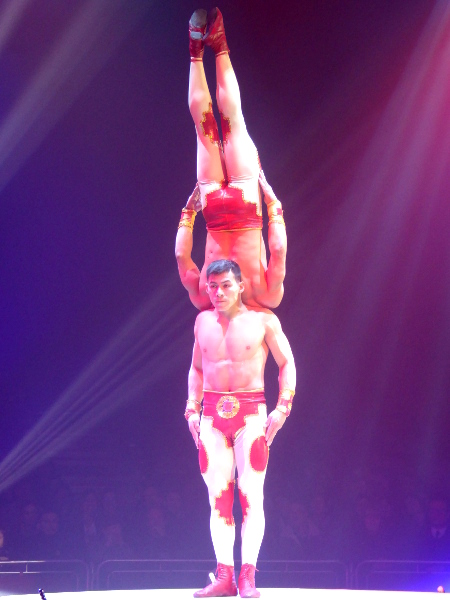 akrobaten Zirkus Festival Figueres