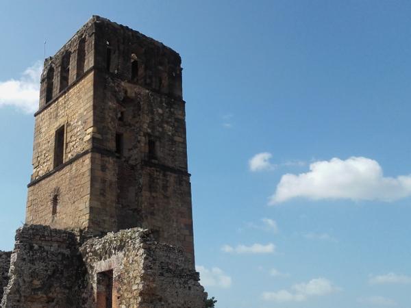 panama viejo ruinen kirche panama city