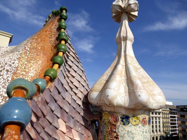 Casa Batllo Dach Drachen