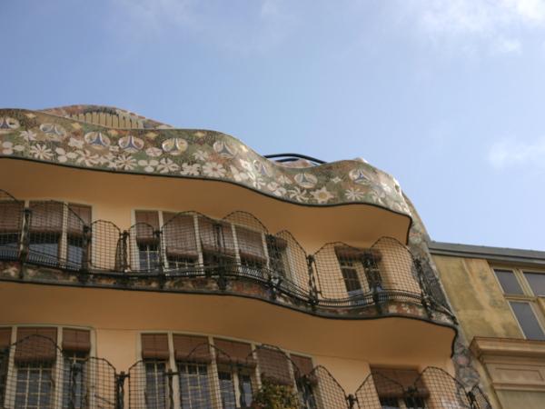 Casa Batllo von hinten