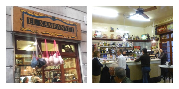 El Xampanyet Tapas in Barcelona