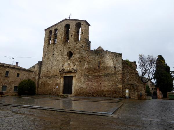 Kirche im mittelalterlichen Ullastret