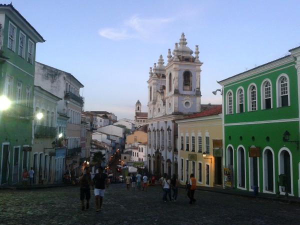 Salvador de Bahia altstadt