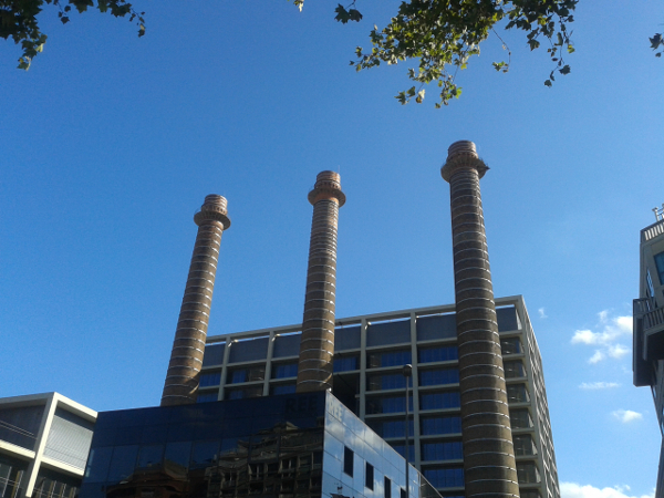 Schornsteine Poble Sec Barcelona
