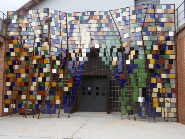 Terracotta Museu La bisbal Eingang