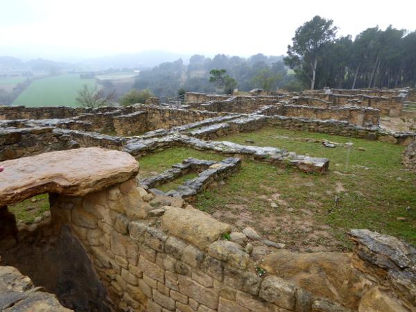 Ullastret iberische Siedlung Ausgrabungen