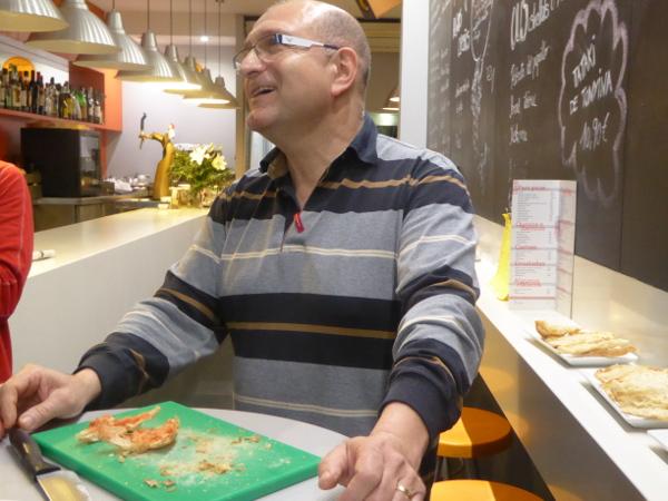 Food Tour gracia barcelona carlos l anxoveta