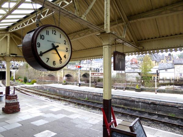 Alter Bahnhof Llangollen Wales