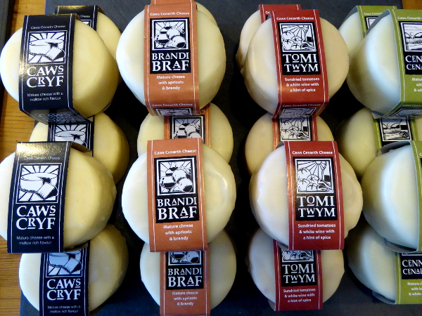 Caerphilly Cheese wales food