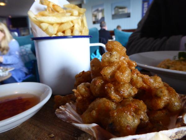 crispy cockels wales food