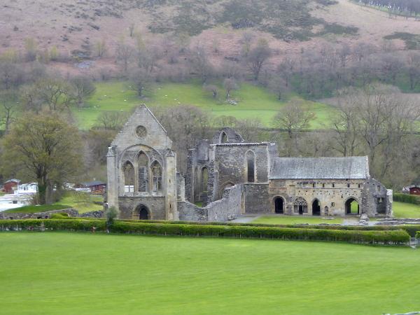 llangollen Valle Crucis Abbey klosterruine