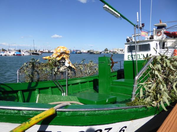 Musclarium Muscheln Ebrodelta Freibeuter reisen fischerboot