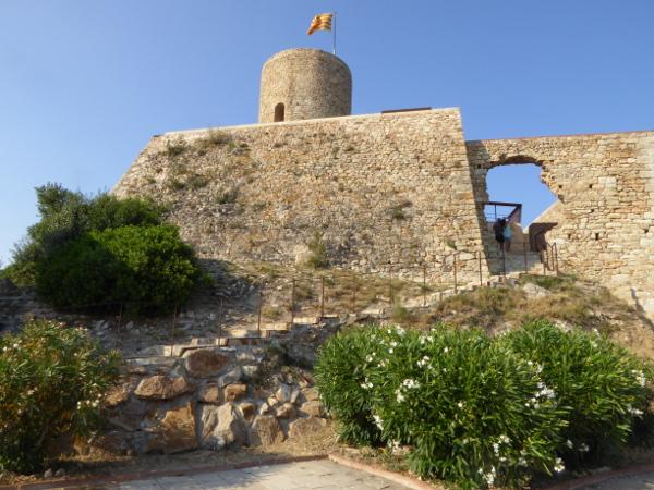 Castell Sant Joan Blanes Freibeuter Reisen