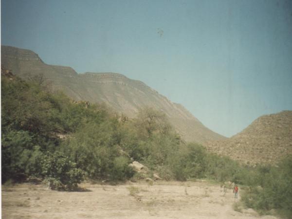 Mexiko Monterrey zugfenster